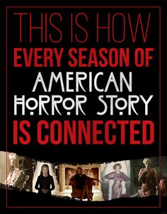 "How The Seasons Of ""American Horror Story"" Connect"