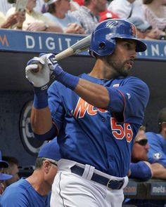 Andres Torres  Did not recognize him in his new Mets uniform
