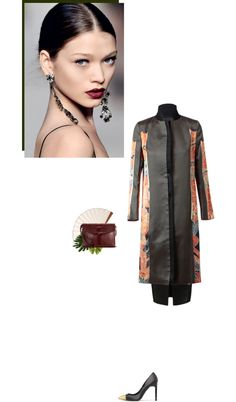 """orient"" by vintagepage ❤ liked on Polyvore"