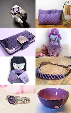 Purple fever  by Danica on Etsy--Pinned with TreasuryPin.com