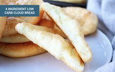 Cloud Bread: 4-Ingredient, Low Carb Bread