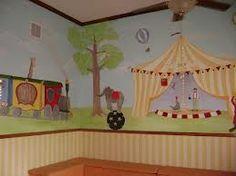 Circus baby room