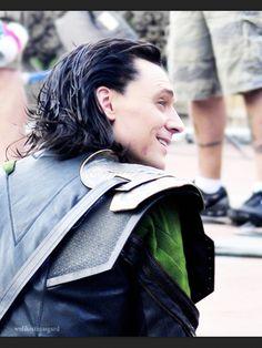 I love Tom Hiddleston's candid photos..... Especially if he's dressed like Loki! Source, perfectionisttomhiddleston tumblr