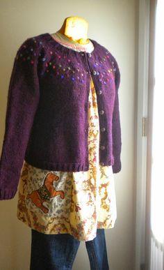 Dress + Cardigan: Installment 6 Ellen Mason Design