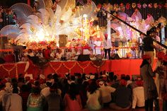 Devotees and Stage