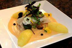 peixe com frutas