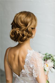 elegant wedding hair ideas | up dos