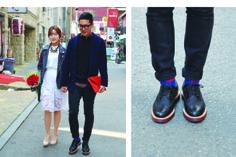 스트리트패션 Street Style: Red Roses 붉은 장미 - ROKSTYLES