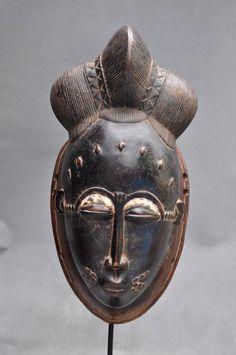 Masque africain - Yaoure - Côte d'Ivoire