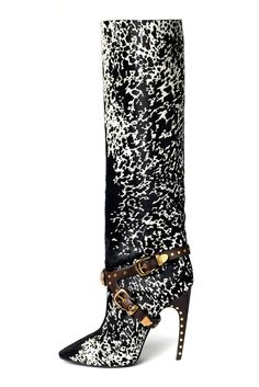 Emilio Pucci fall 2014 boots. perfect! source: style.com