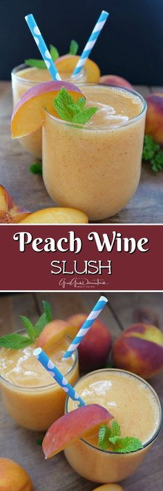 Summertime Cooking With Gina Meyers (Cooking With Peaches & Pomegranate Wine)