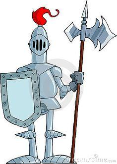 Cartoon Knight Stock Images - Image: 23074664