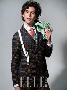 Mika for Elle magazine Korea photoshoot June 2013