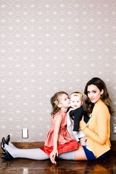 Jessica Alba & Daughters: Posh Photo Shoot | Celebrity Baby Scoop