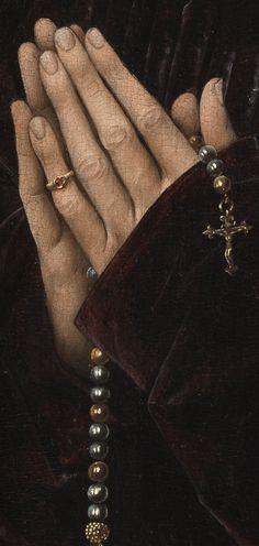 Rogier van der Weyden, Philippe de Croy, ca. 1460, detail