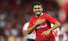 Botafogo anuncia a contratação do atacante Brenner, ex-Internacional