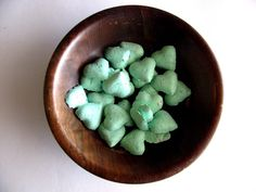 Faveurs de mariage vert de la menthe bombe de coeur Seed - Seafoam Green Baby Shower Favors