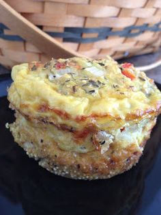 Quinoa Egg Bake. Meli's new favorite recipe! Adapted from the Whole Foods recipe next pin...