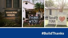 #BuildThanks: DIY a Thank-You at Home for Front-Line Heroes