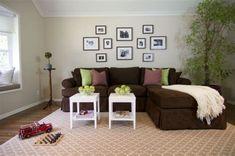 Braune Sofas Wohnzimmer - Alton Brown Design Alton Brown, Sofas, Couch, Form, Furniture, Home Decor, Brown Sofa, Simple, Homes
