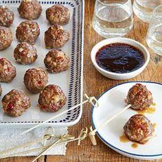 Sweet-and-Sour Meatballs | MyRecipes.com
