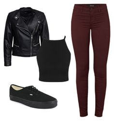 """""""#S_outfit"""" by elenkok on Polyvore featuring J Brand, Vans and Sisters Point"""