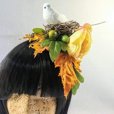 learned which plants would aid in digestion, which would cause distress, and became particulary good at deciphering bird calls and songs.  She had no idea that a chance visit to her gardens today would change her destiny forever... https://www.etsy.com/listing/612977750/priscillas-precious-a-fall-inspired