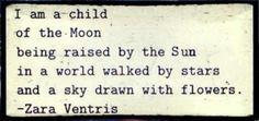 Child, moon, raised, sun, world, stars