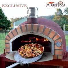Pizzaioli Wood Fired Pizza Oven with Cork Finish Image of Pizzaioli Brick Pizza Oven with Red Portuguese Brick Cork Option Diy Pizza Oven, Pizza Oven Outdoor, Outdoor Cooking, Pizza Ovens, Brick Oven Outdoor, Wood Burning Oven, Wood Fired Oven, Wood Fired Pizza, Fire Pit Pizza