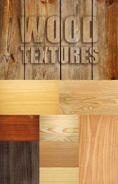 Wood Textures Pack - подборка качественных текстур дерева