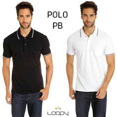 A nossa Polo PB em suas duas versões. Uma básica TOP com detalhe de friso.   Que tal para a programação de uma quinta-feira a noite?   #loopy #loopyoficial #loopyteam #2014deloopy