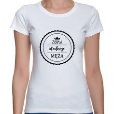ŻONA IDEALNEGO MĘŻA (NADR CZARNY) Psp, V Neck, T Shirts For Women, Fashion, Moda, Fashion Styles, Fashion Illustrations