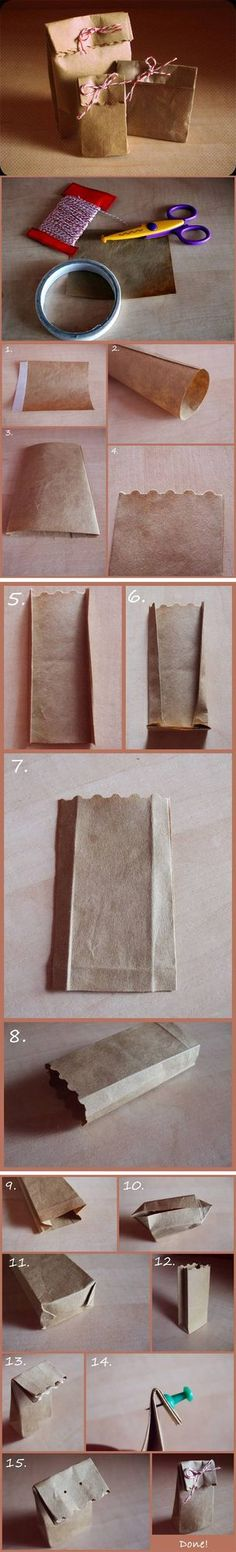 Materials: gray paper -scissors -string -glue