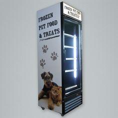 VF-300 single door commercial freezer. Merchandising Displays, Single Doors, Glass Door, Freezer, Commercial, Chest Freezer, Freezers