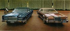 1967 Buick Riviera, Cadillac Eldorado, Ford Thunderbird, Pontiac Grand Prix and Oldsmobile Toronado      1971 Chevrolet Corvette Stingray ...