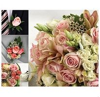 These are my bouquets.  FOR THE PENNY PINCHING BRIDE!  Elegant, beautiful, yet very affordable.  Wedding Collection - Pink - 17 pc.