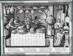 The Shop of the pastry cook (c.1630)