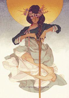 Queen Aria Kiel, First Queen of Carington