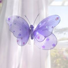 Look what I found on Butterfly Flower Garden Décor Set by Heart to Heart Purple Baby Shower Decorations, Baby Shower Purple, Butterfly Decorations, Butterfly Bedroom, Purple Butterfly, Butterfly Flowers, Butterflies, Gardening For Beginners, My Favorite Color