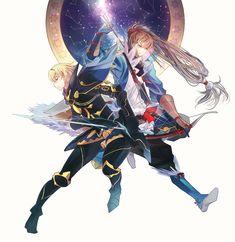 Fire Emblem: If/Fates - Leon and Takumi
