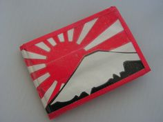 Cool rising sun wallet made out of 100% duct tape!    https://www.etsy.com/listing/116672862/duct-tape-rising-sun-wallet