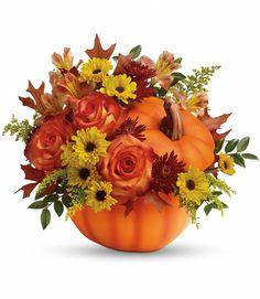 Pumpkin Bouquet, Pumpkin Flower, Pumpkin Arrangements, Fall Flower Arrangements, Thanksgiving Flowers, Halloween Flowers, Harvest Decorations, Fall Bouquets, Same Day Flower Delivery