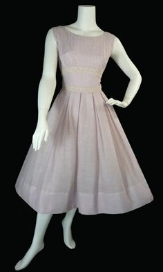 J. Harlan Originals vintage 1950s lilac dress