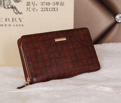 Burberry Clutch Bag 3749 Brown