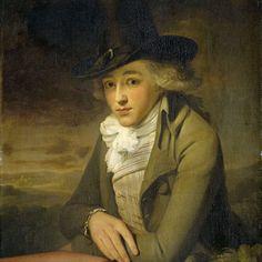 """""""Portrait of Jacob Willemsz de Vos,"""" anonymous, c. 1795; Rijksmuseum SK-C-1652"""