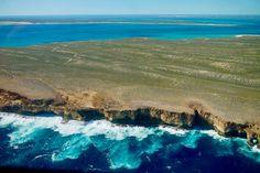 Ein Shark Bay Scenic Flight zeigt dir die Schönheit, kontrasteichen Farben & Vielfalt der Region als Ganzes: Strände, Lagunen, Steilklippen, Erde, Inseln!