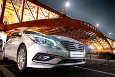 In a midsummer night, all the lights are twinkling like stars✨ - 한여름 밤에 즐기는 이색 드라이브! - #underthebridge #shining #Seongsanbridge #date #lovestagram #drive #carsofinstagram #car #SONATA #Hyundai