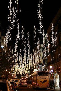 Luces de Navidad 2010 en Madrid (Spain)