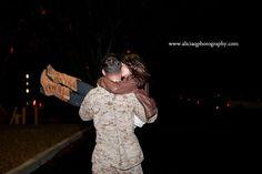 Marine Corps Homecoming - Camp Pendleton, CA Usmc, Marines, Camp Pendleton, San Diego Wedding Photographer, Army Love, Guy Pictures, Romantic Couples, Homecoming, Couple Stuff
