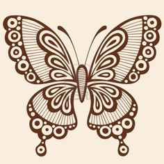 Illustration of Hand-Drawn Butterfly Henna Mehndi Paisley Doodle Outline Vector Illustration Design Element vector art, clipart and stock vectors. Paisley Doodle, Henna Doodle, Henna Butterfly, Butterfly Outline, Butterfly Design, Butterfly Pattern, Quilling Butterfly, Henna Mehndi, Tatoo Henna